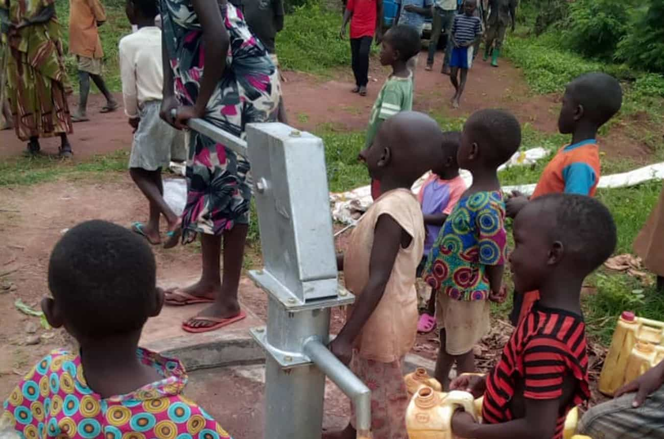 Running Well completes its first two water boreholes in Itanda parish