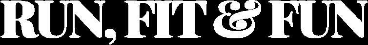 Logotype Run Fit & Fun