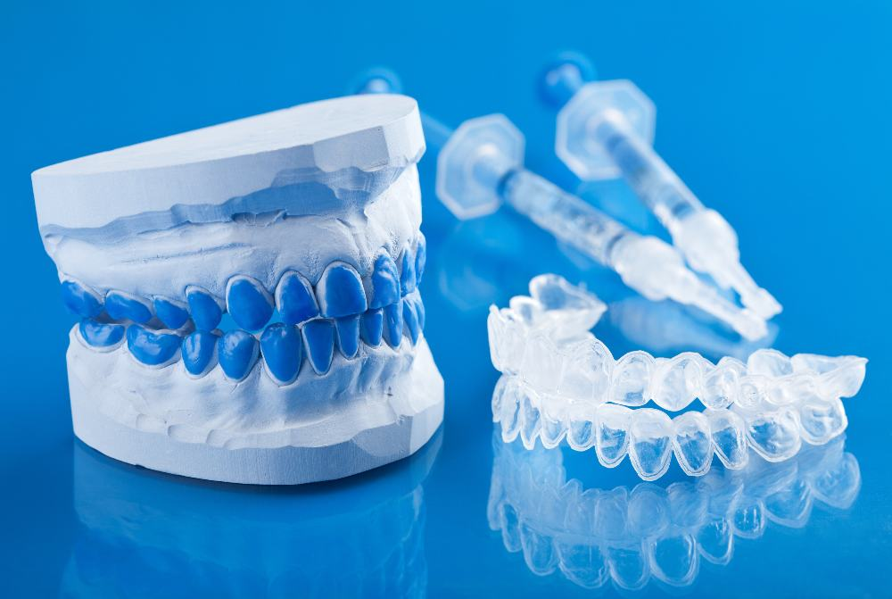 teeth model and aligners
