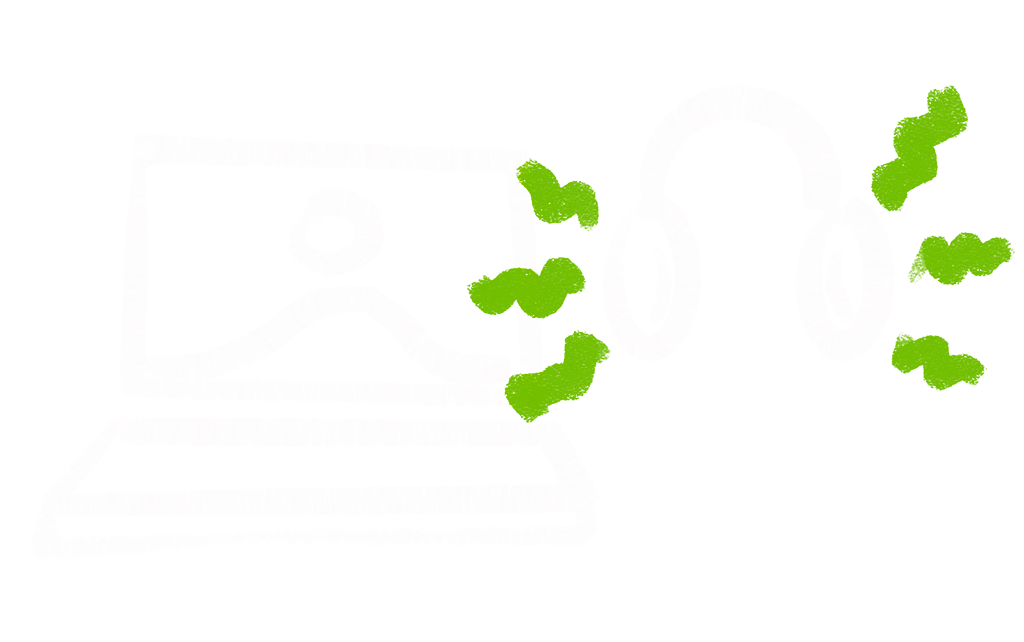 Virtual event support icon