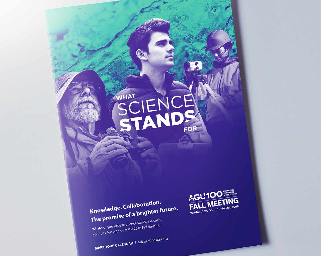 Print ad promoting AGU Fall Meeting 2019