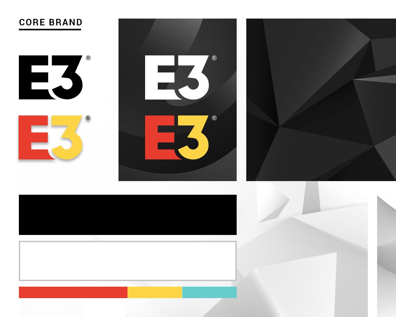 Grid detailing the E3 2021 core brand