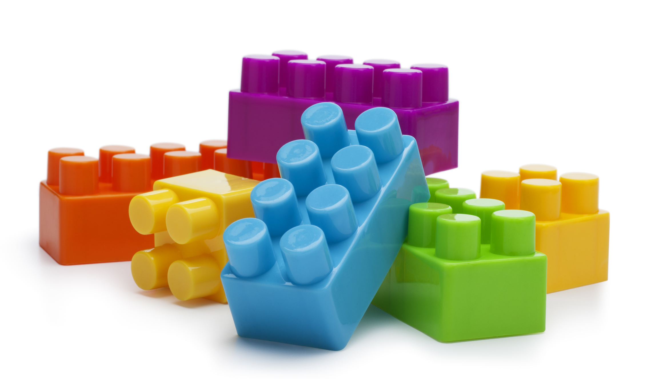 colorful stack of lego blocks