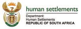 South African department of Human Settlements crest