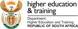 South African Higher education & training crest