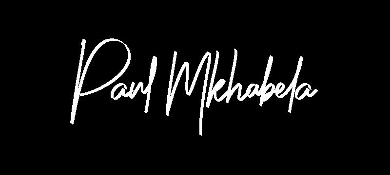 Paul Mkhabela signature