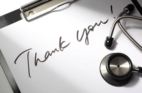 a thank you note from a patient cured of ED