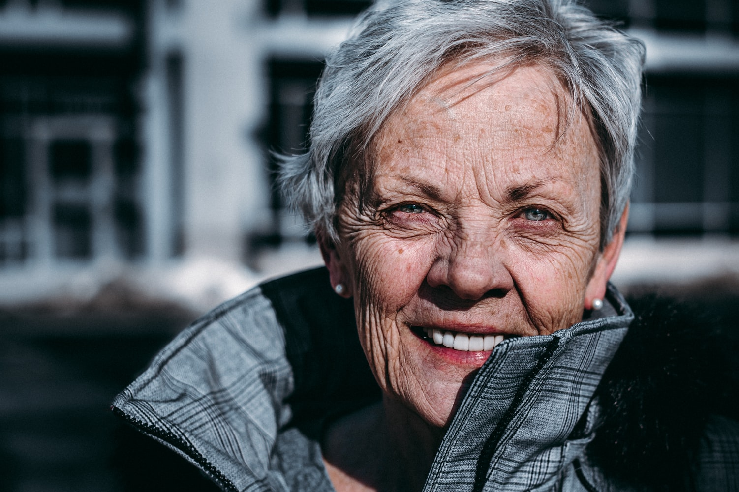 an elderly woman after EPAT