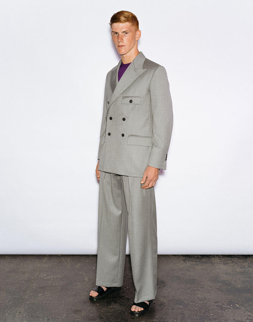 PSEUDONYM SS20 fashion/apparel collection, Look 01.