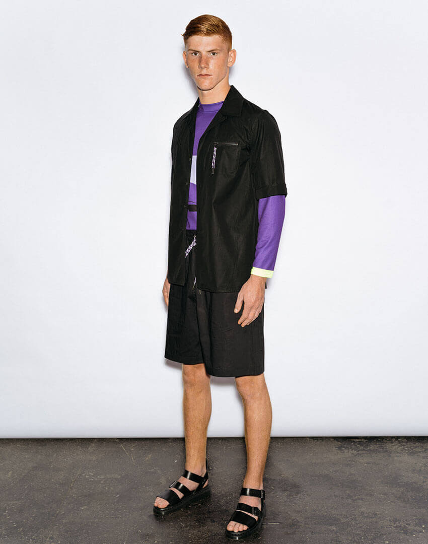 PSEUDONYM SS20 fashion/apparel collection, Look 03.