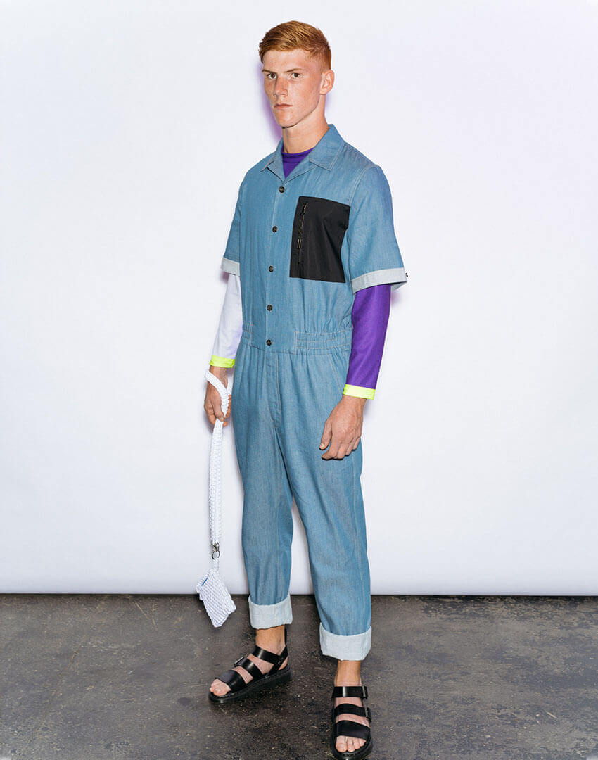 PSEUDONYM SS20 fashion/apparel collection, Look 12.