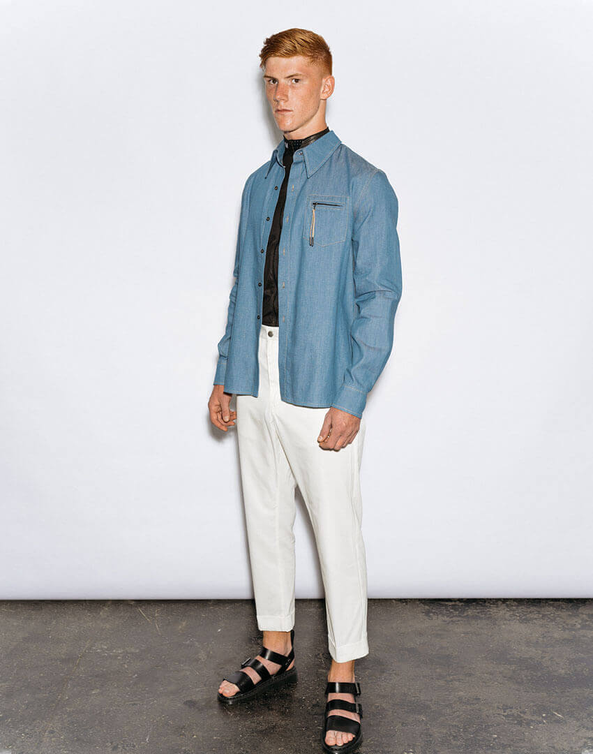PSEUDONYM SS20 fashion/apparel collection, Look 13.