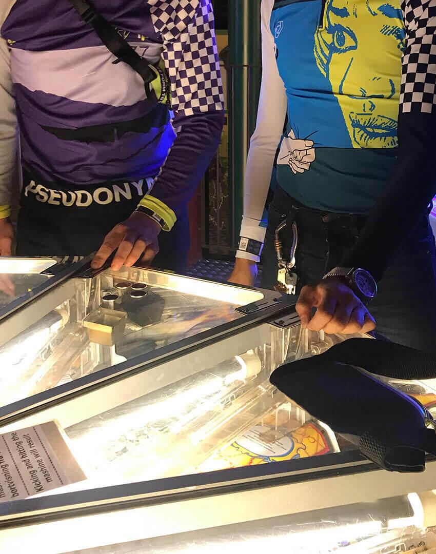 PSEUDONYM SS20 fashion/apparel campaign, Amusement Park 03—slot machine.