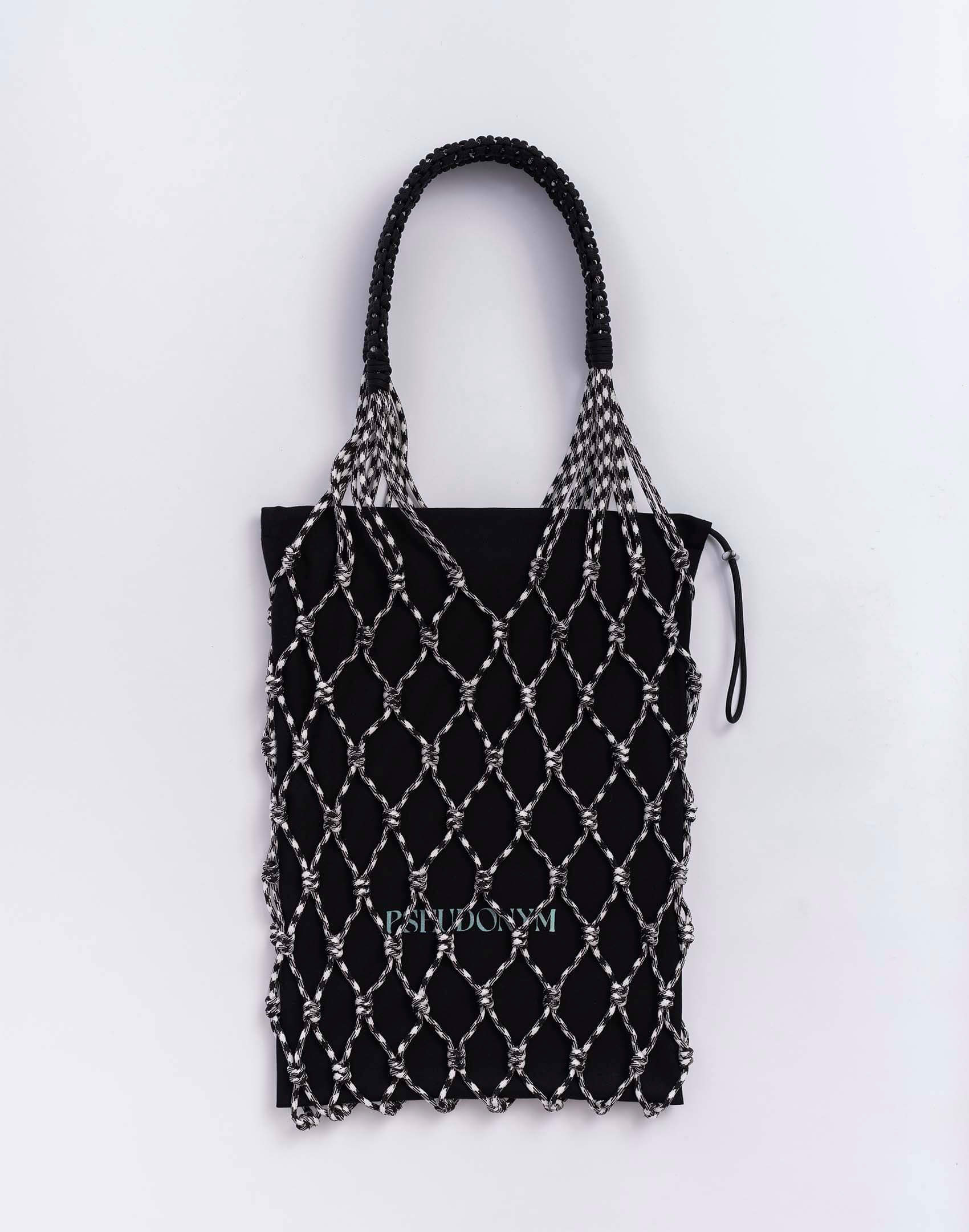 P.S. Field Bag 05 (Cookies 'n Cream), black and white houndstooth colorway.