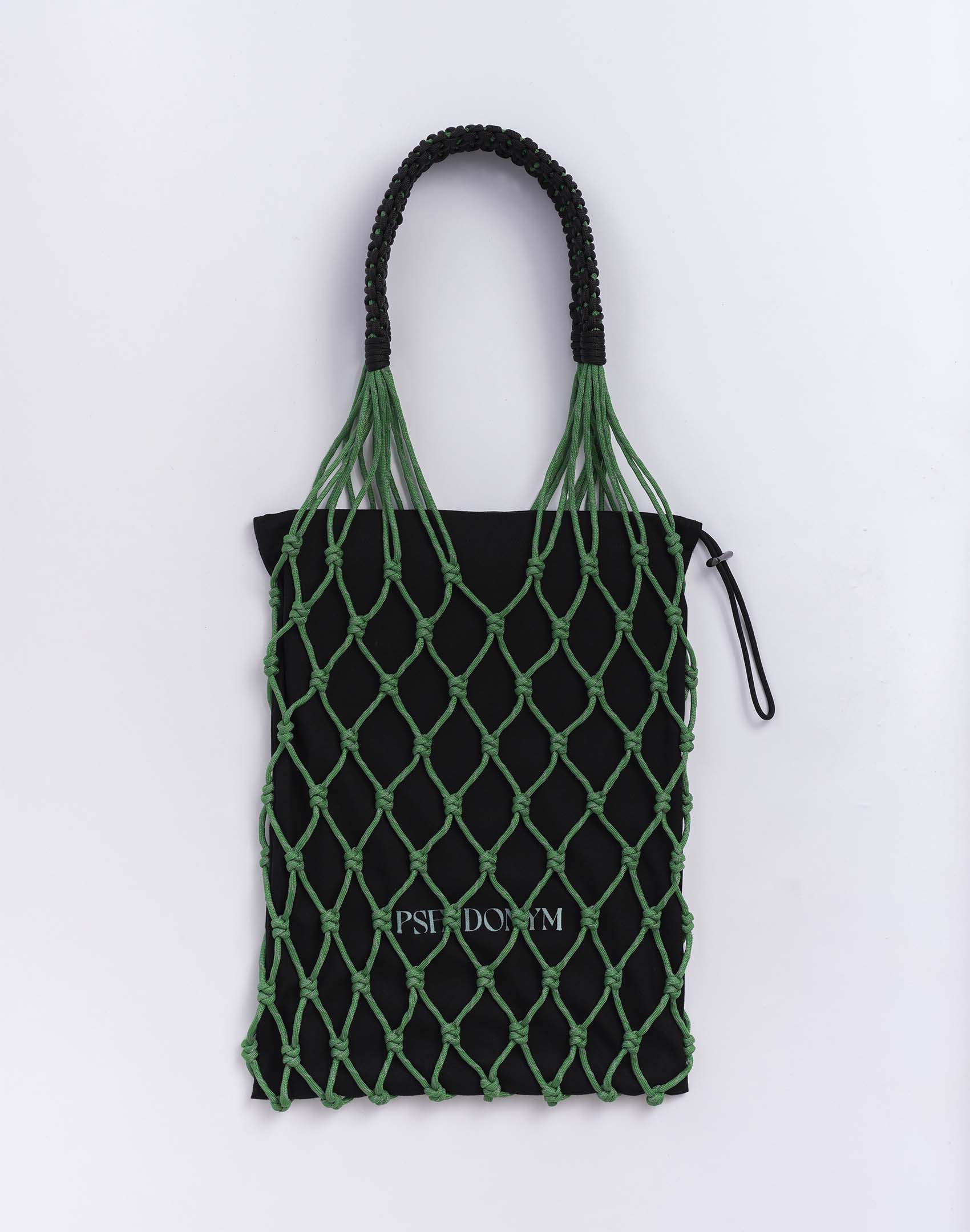 P.S. Field Bag 07 (Hulk Nude), green reflective/black colorway.