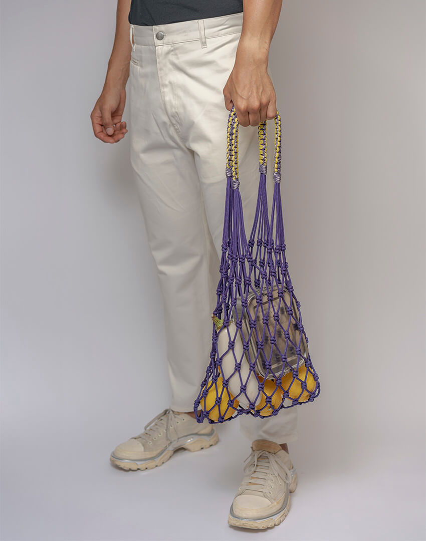 P.S. Field Bag 16 (Lakers), purple/yellow colorway.