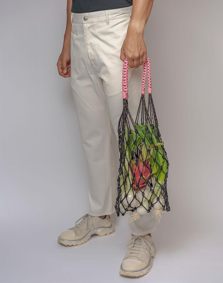 P.S. Field Bag 20 (Sakura), black/pink colorway.