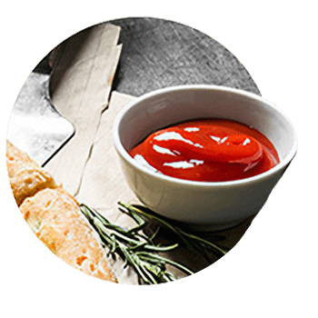 Cenario's Dixon high quality sauces.