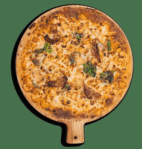 Mediterranean pizza from Cenario's Dixon.
