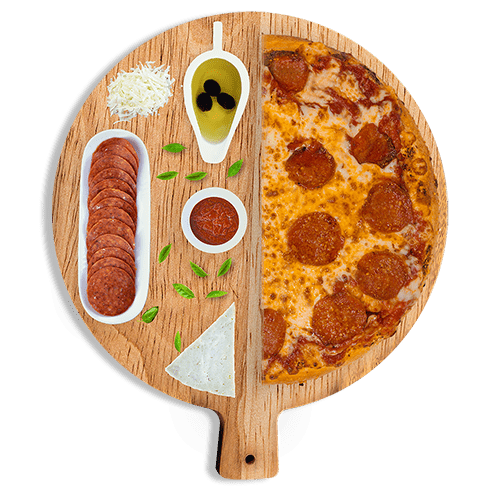 Build your own pizza from Cenario's Dixon.