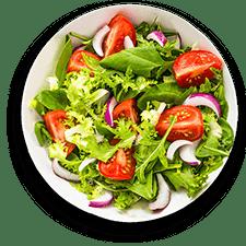 Cenario's Dixon menu salads tab