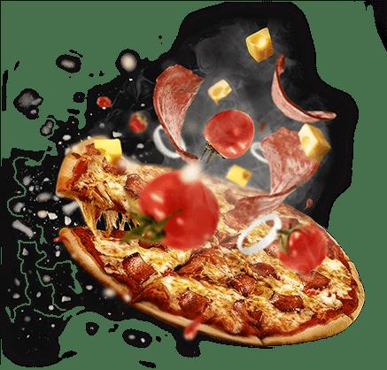 Fresh pizza at Cenario's Dixon