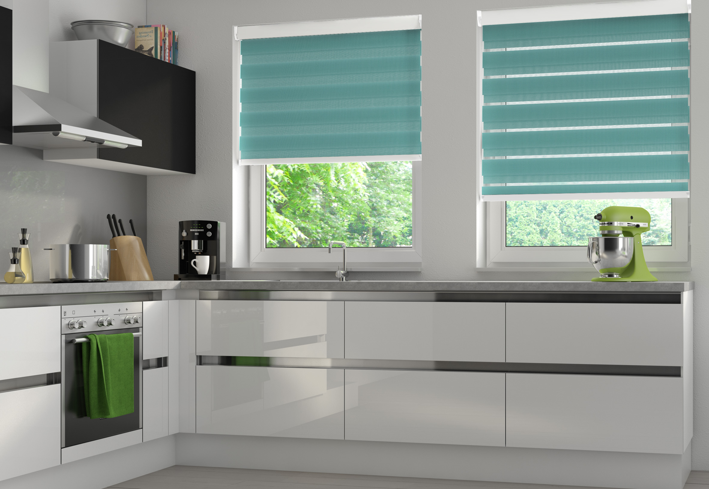 Duo Fabric Roller Blinds