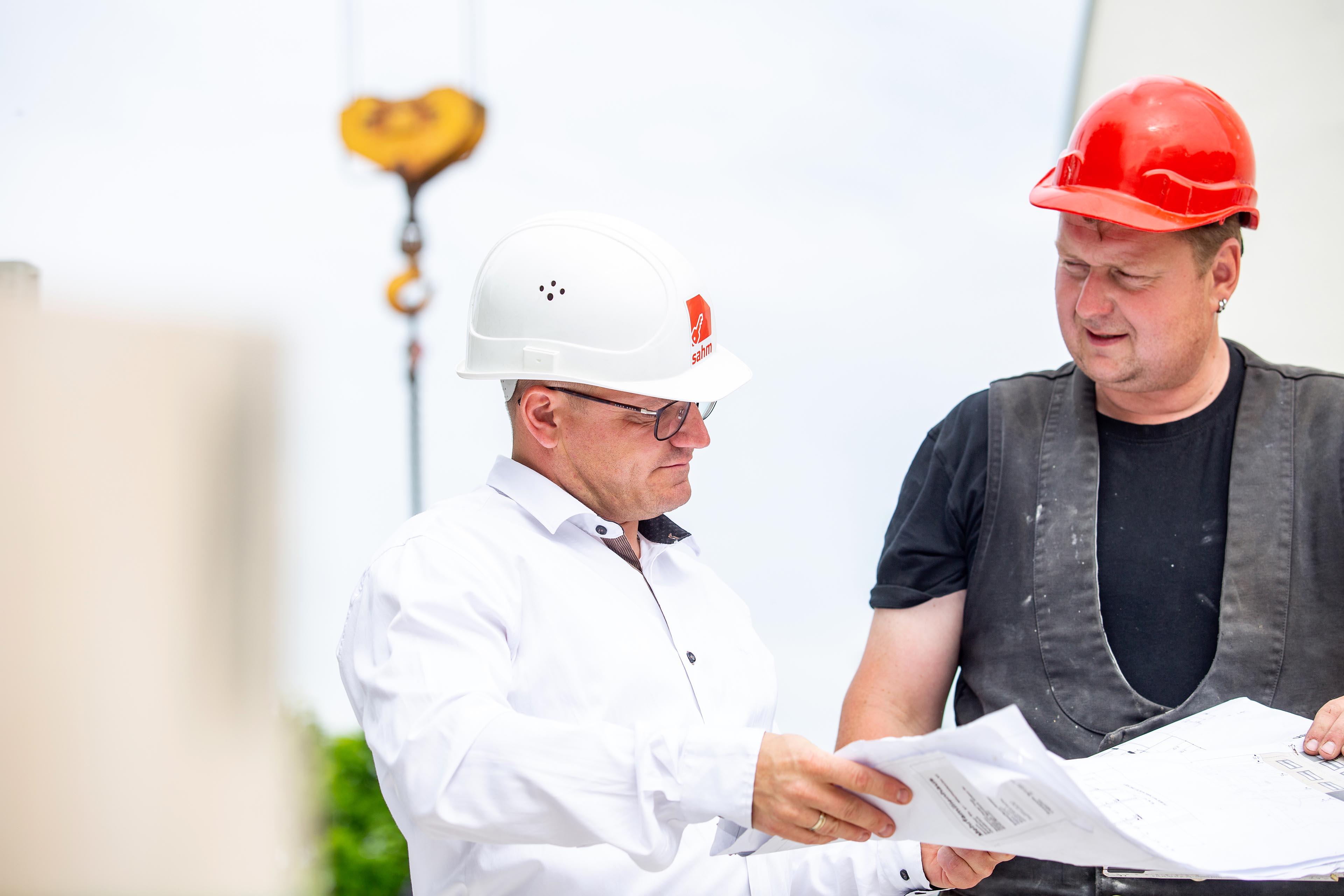Sahm GmbH | Überprüfung der Bauzeichnung