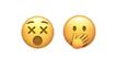 See no evil, speak no evil emojis