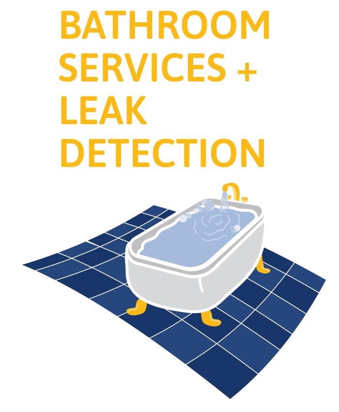 bathroom service illustration