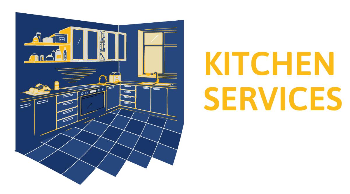 kitchen service illustration