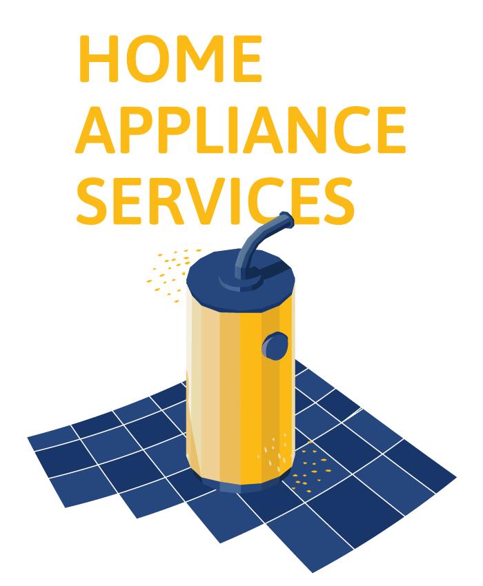 home appliance service illustration
