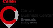 Canon Business Center Brussels - Header Logo