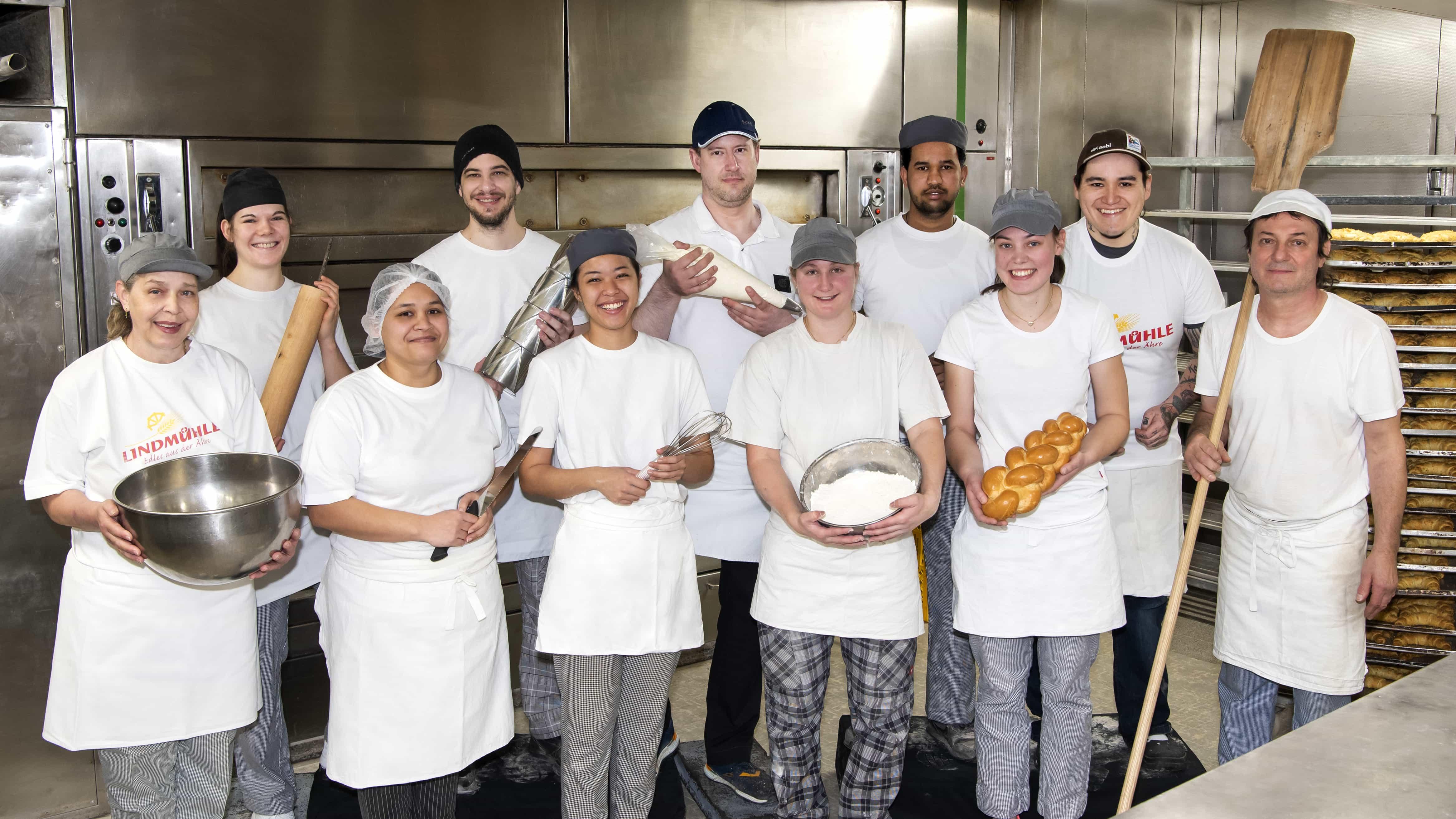 Bäcker-Konditorenteam