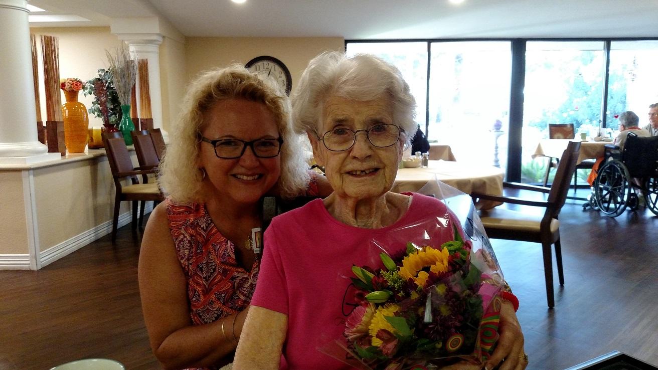 Gene Autrey's former secretary celebrates 28 years at Royal Oaks.