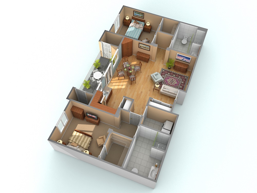 Making a Luxurious Home in the Laurel Apartment at Royal Oaks