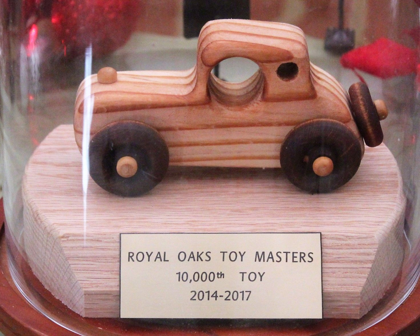 Royal Oaks Toy Crafters celebrate with their 10,000th toy