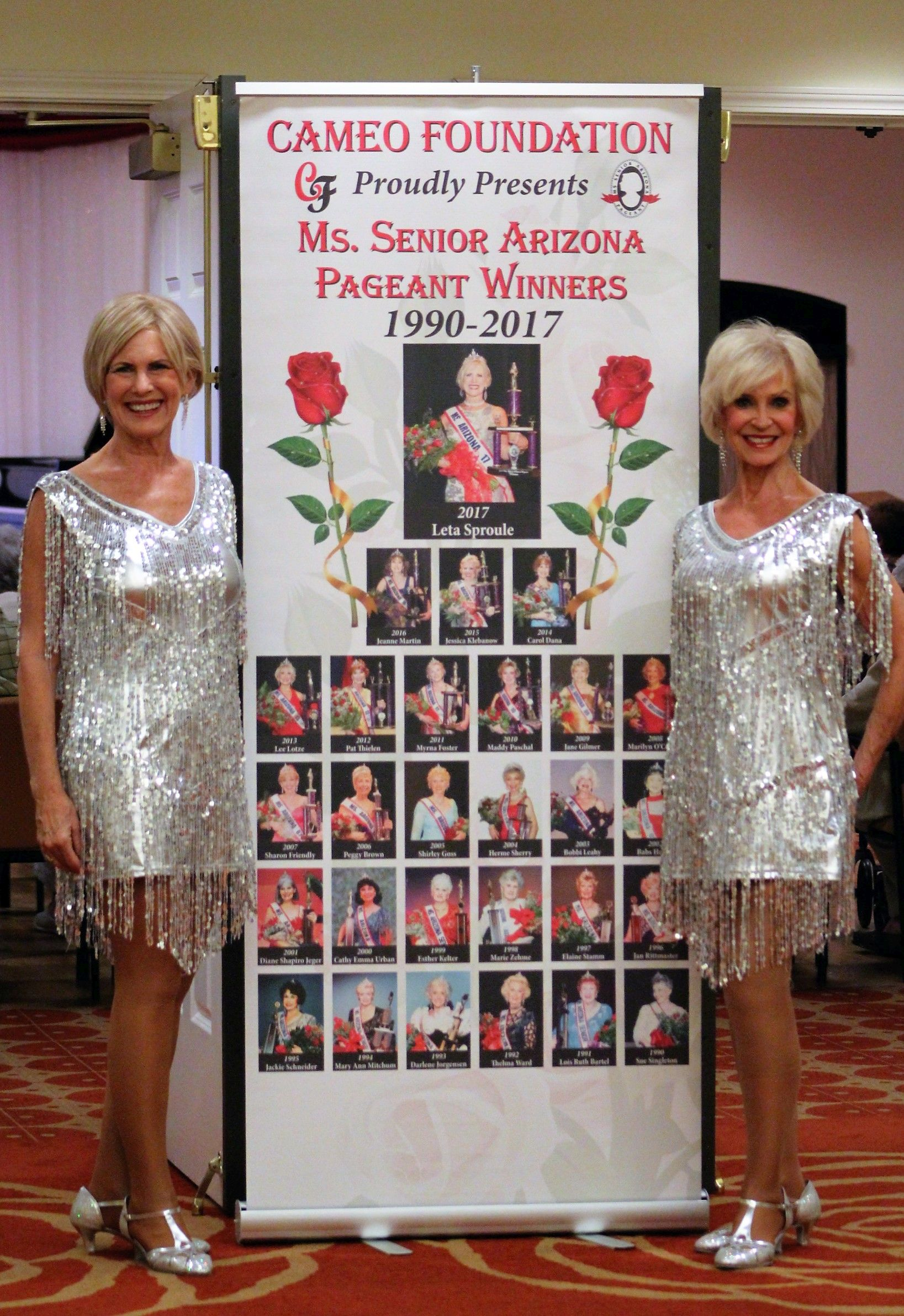 Beauties from the Cameo Club gave show-stopping performances to the delight of Royal Oaks residents