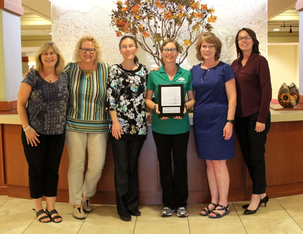 Royal Oaks honored by the American Heart Association's Workplace Health Achievement Index