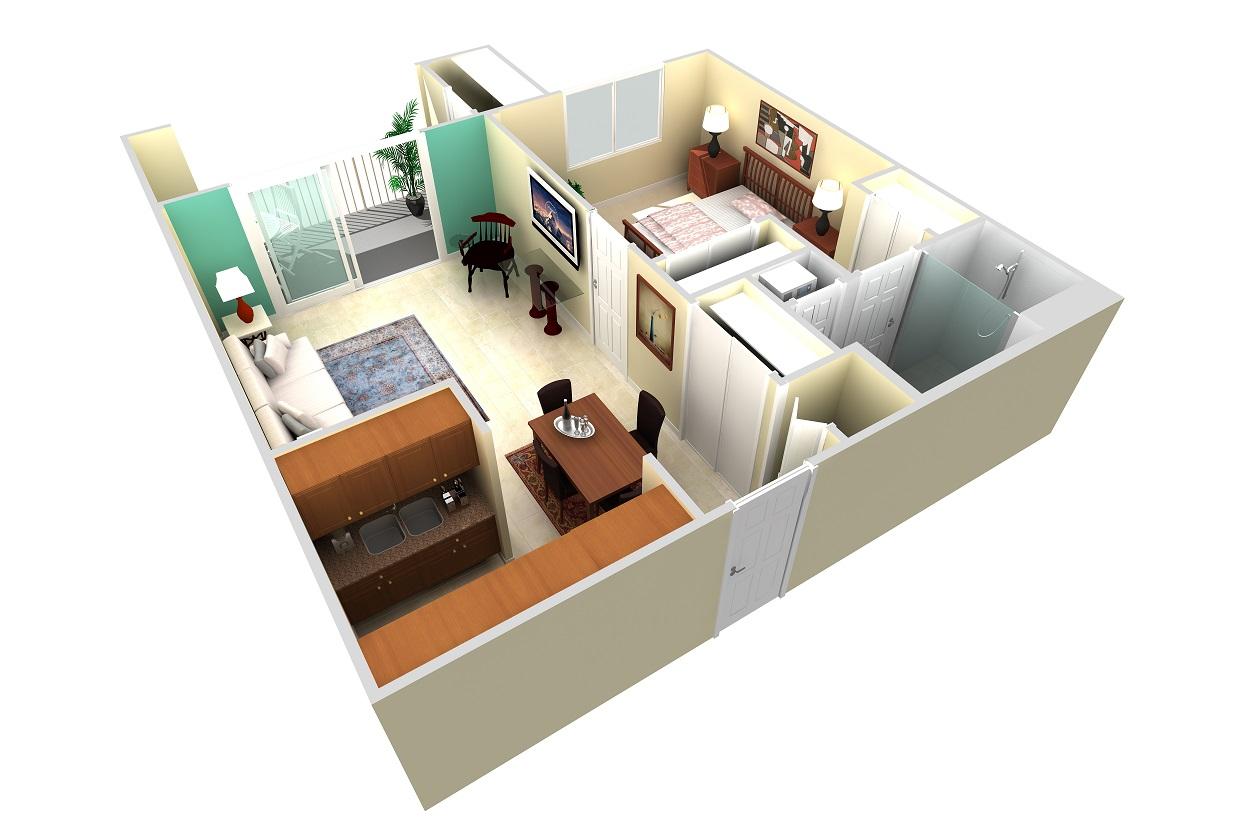 Royal Oaks Wisteria Apartment - an ideal minimalist lifestyle in Sun City