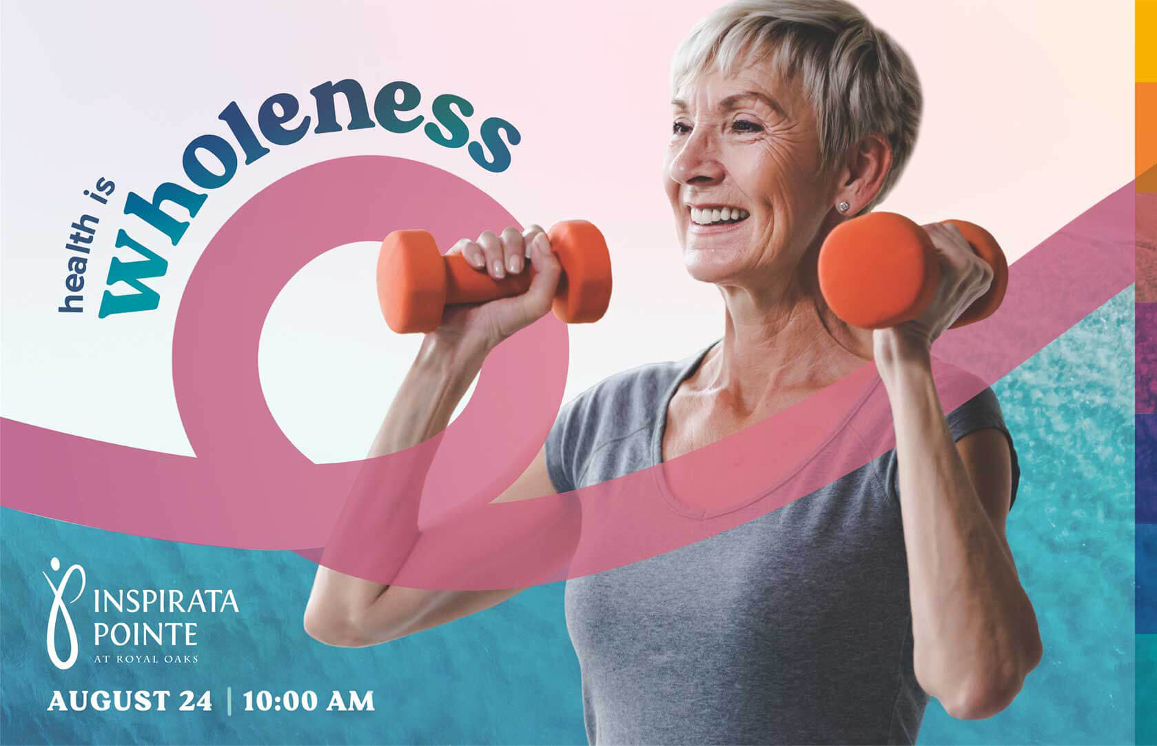 Join us for: Health is Wholeness