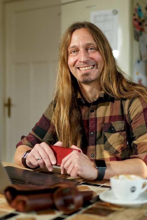 Porträt von Marc Thiele, Organisator des Kongresses beyond tellerrand