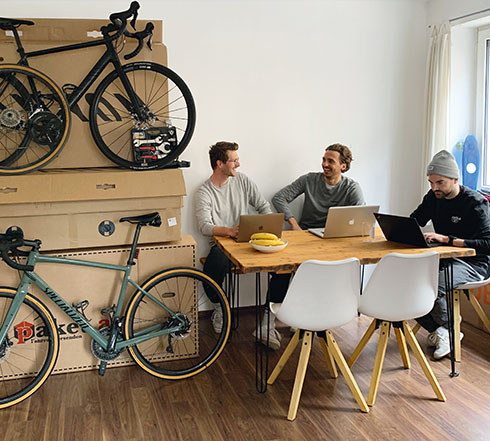 Buycycle-Team im Office