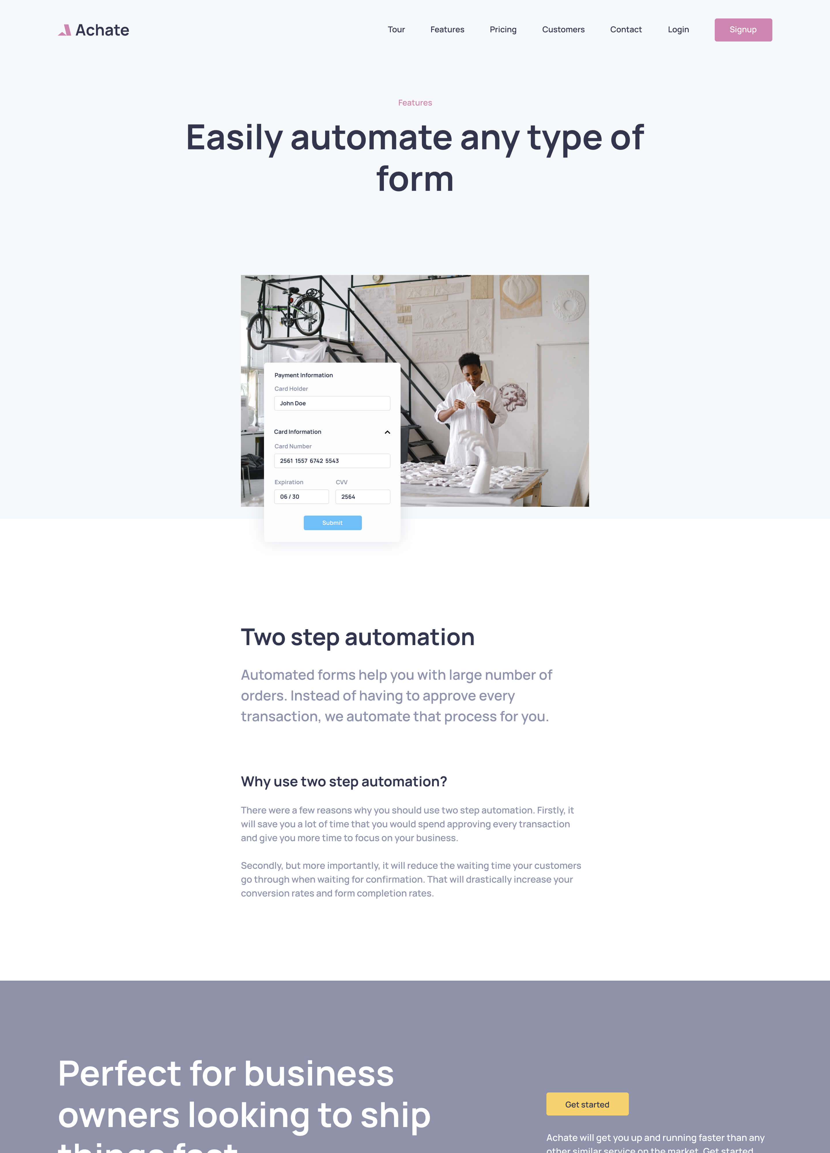 Theme Page Example