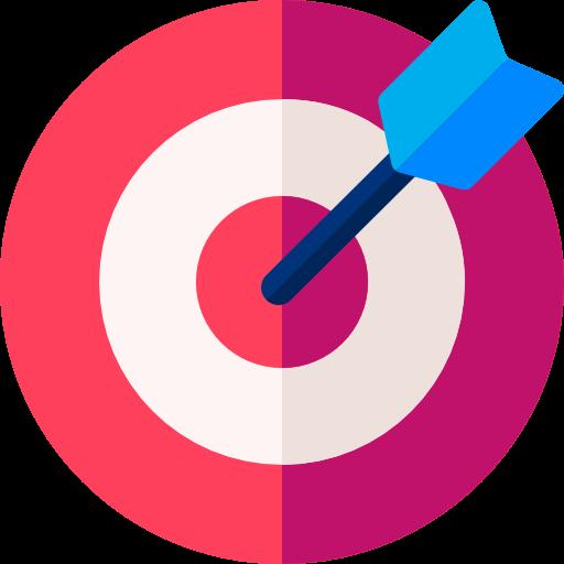 Icône de la définition d'objectifs personnalisés