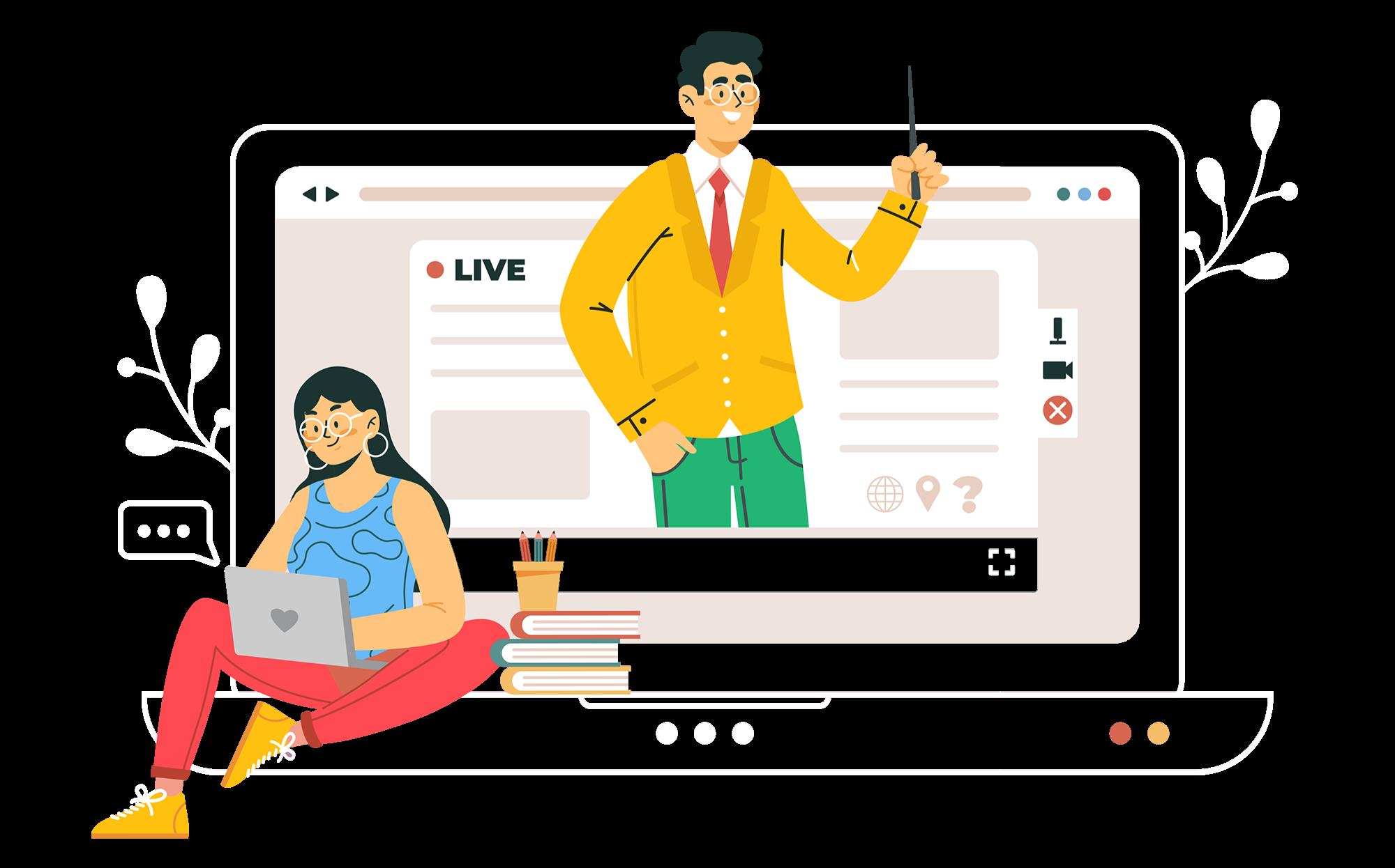 Illustration de la section d'accès à la solution en ligne