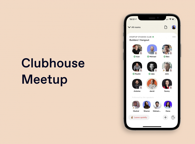 House of Founders on Clubhouse