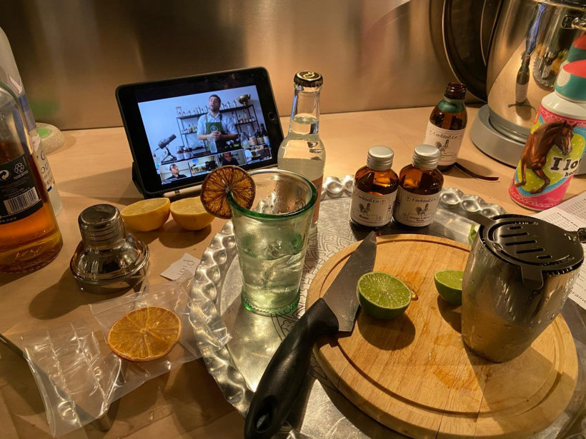 Cocktail workshop meetup