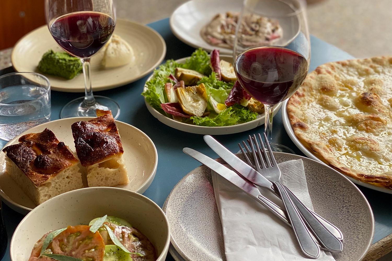 Italiensk på menuen i Kulturladen