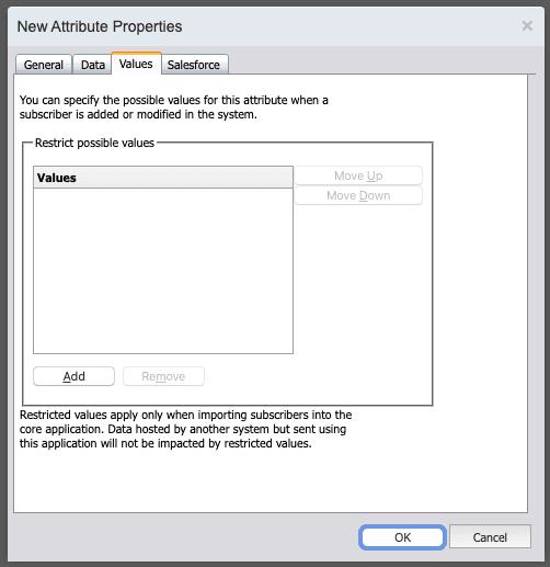 creating attribute in email studio marketing cloud part c